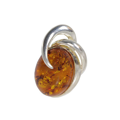 """Beaming Sun"" Baltic Amber Pendant"