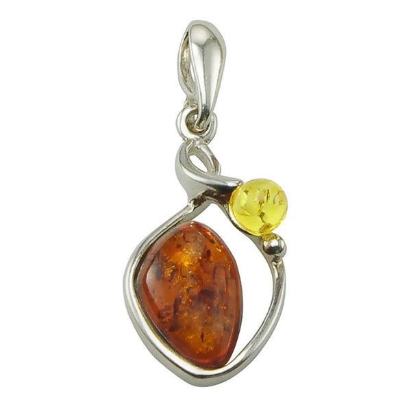 "Baltic Amber Pendant ""Pola"""