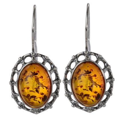 """Baltic Honey Amber Earrings """"Lisa"""""""