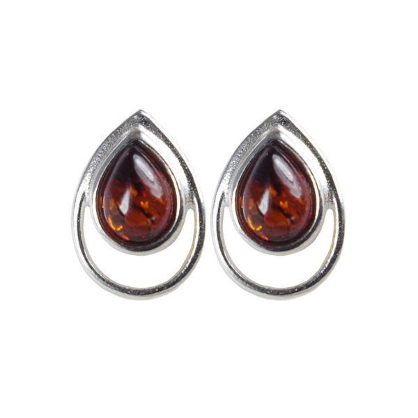 """Baltic Honey Amber Earrings """"Lina"""""""