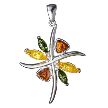 "Baltic Amber Pendant ""Evelyn"""
