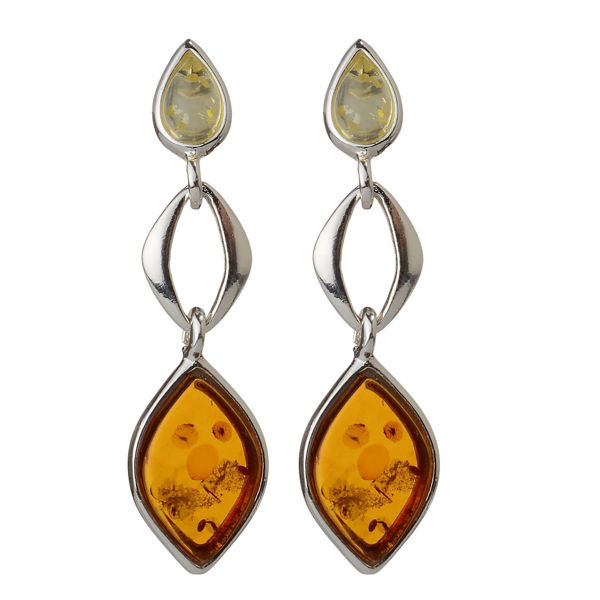 "Baltic  Amber Earring ""June"""