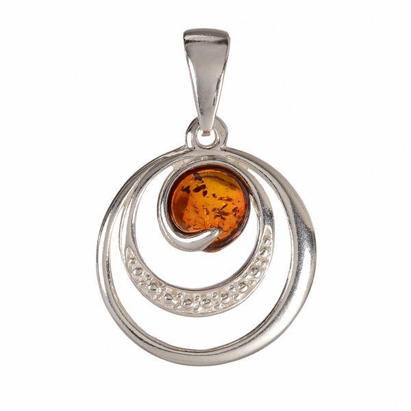 "Baltic Amber Pendant ""Aleta"""
