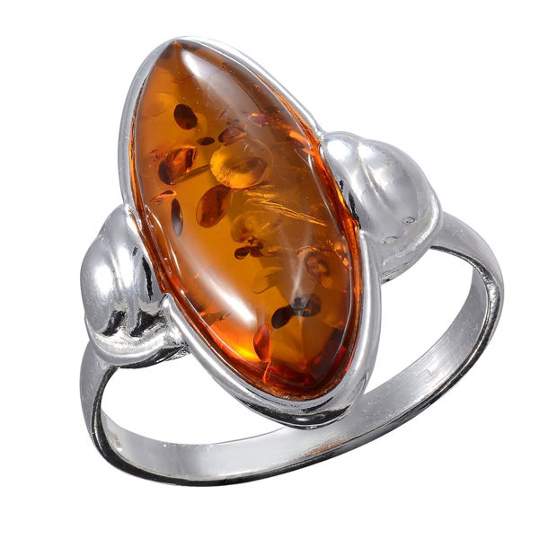 "Baltic Honey Amber ""Athena"" Ring"