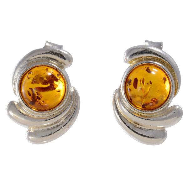 """Baltic Honey Amber Earrings """"Tamika"""