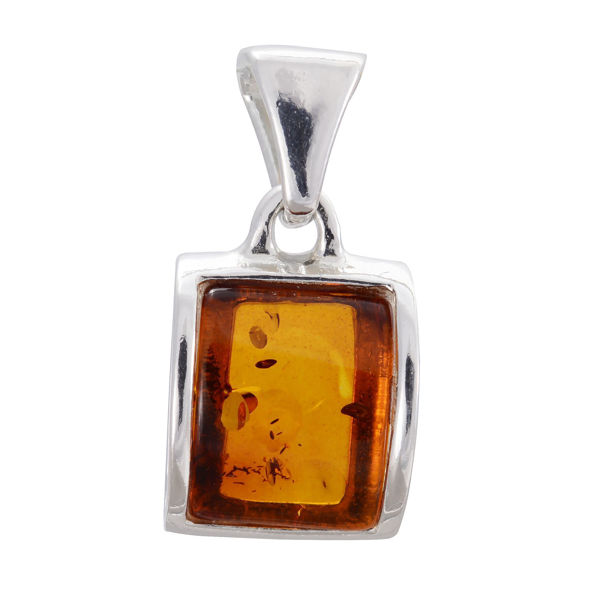 "Baltic Amber Pendant ""Lottie"""