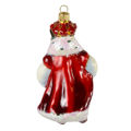 Hand Made Glass Christmas Ornament Mouse King Nutcracker