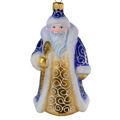 Hand Made Glass Christmas Ornament Santa Claus